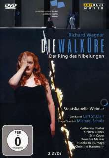 Richard Wagner (1813-1883): Die Walküre, 2 DVDs