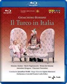 Gioacchino Rossini (1792-1868): Il Turco in Italia, Blu-ray Disc