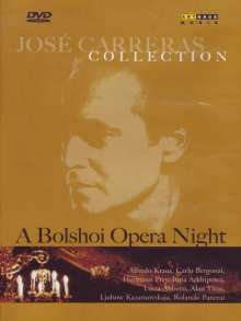 "Jose Carreras Collection ""A Bolshoi Opera Night"", DVD"