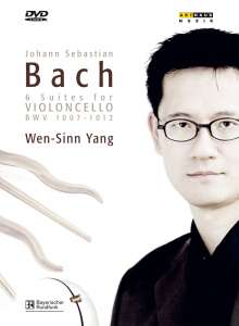 Johann Sebastian Bach (1685-1750): Cellosuiten BWV 1007-1012, 2 DVDs