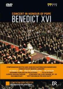 Symphonieorchester des Bayerischen Rundfunks - Konzert zu Ehren Papst Benedikts XVI., DVD