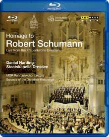 Staatskapelle Dresden - Homage to Robert Schumann, Blu-ray Disc