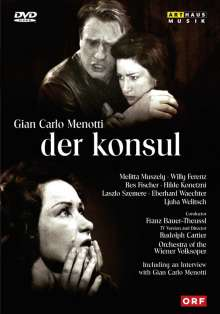 Gian-Carlo Menotti (1911-2007): Der Konsul (in dt.Spr.), DVD
