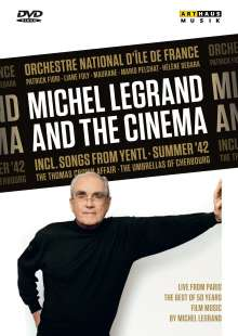 Michel Legrand (1932-2019): Michel Legrand and the Cinema, DVD