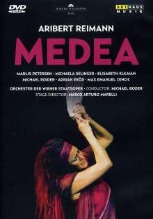 Aribert Reimann (geb. 1936): Medea, DVD