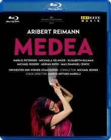 Aribert Reimann (geb. 1936): Medea, Blu-ray Disc