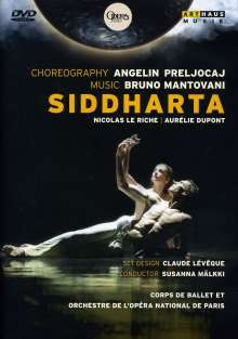Ballet de l'Opera National de Paris:Siddharta, DVD