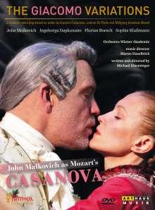 Wolfgang Amadeus Mozart (1756-1791): The Giacomo Variations, DVD