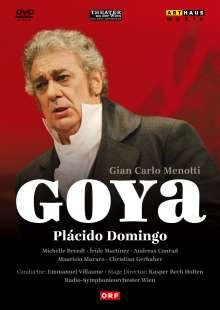 Gian-Carlo Menotti (1911-2007): Goya, DVD