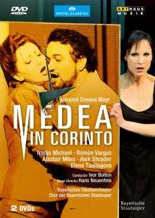 Johann Simon (Giovanni Simone) Mayr (1763-1845): Medea in Corinto, 2 DVDs
