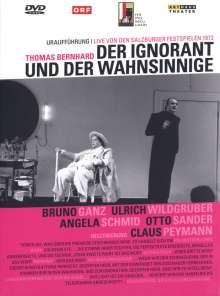 Der Ignorant und der Wahnsinnige (Salzburg 1972), DVD