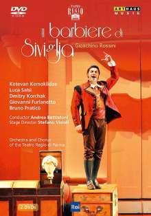 Gioacchino Rossini (1792-1868): Der Barbier von Sevilla, 2 DVDs