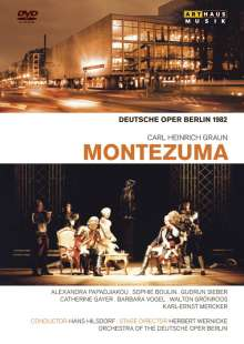 Carl Heinrich Graun (1703-1759): Montezuma (Deutsche Oper Berlin 1982), DVD