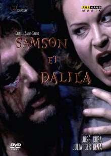 Camille Saint-Saens (1835-1921): Samson & Dalila, DVD