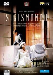 Gioacchino Rossini (1792-1868): Sigismondo, 2 DVDs
