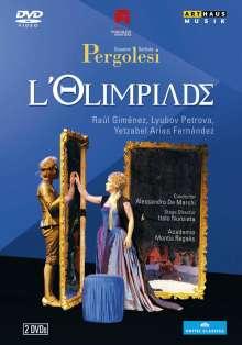 Giovanni Battista Pergolesi (1710-1736): L'Olimpiade, 2 DVDs