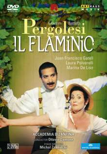 Giovanni Battista Pergolesi (1710-1736): Il Flaminio, 2 DVDs
