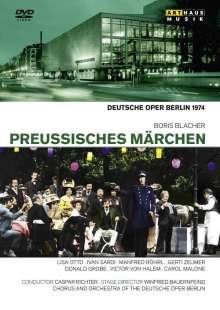 Boris Blacher (1903-1975): Preussisches Märchen, DVD