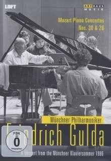 Wolfgang Amadeus Mozart (1756-1791): Klavierkonzerte Nr.20 & 26, DVD