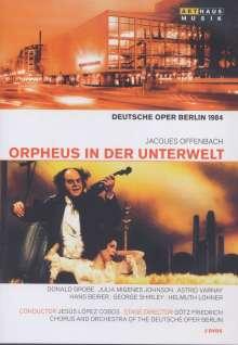 Jacques Offenbach (1819-1880): Orpheus in der Unterwelt (in deutscher Sprache), 2 DVDs