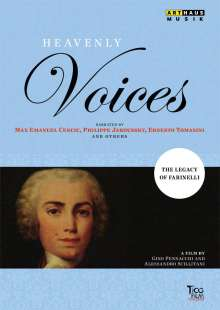 Heavenly Voices (Dokumentation) - The Legacy of Farinelli, DVD