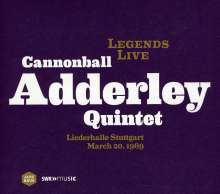 Cannonball Adderley (1928-1975): Legends Live: Liederhalle Stuttgart 20.03.1969, CD