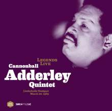 Cannonball Adderley (1928-1975): Legends Live - Liederhalle Stuttgart March 20, 1969 (180g), LP