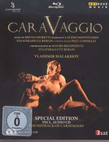 Staatsballett Berlin: Caravaggio (Special Edition mit CD), Blu-ray Disc