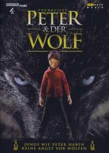 Serge Prokofieff (1891-1953): Peter und der Wolf op.67 (Animationsfilm), DVD