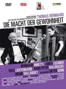 Die Macht der Gewohnheit (Salzburger Festspiele 1974), DVD