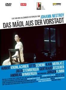 Das Mädl aus der Vorstadt (Salzburger Festspiele 1989), DVD