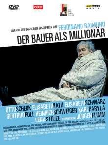 Der Bauer als Millionär (Salzburger Festspiele 1988), DVD