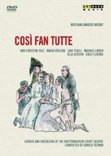 Wolfgang Amadeus Mozart (1756-1791): Cosi fan tutte, DVD