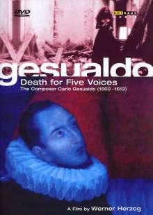 Gesualdo - Tod für fünf Stimmen, DVD