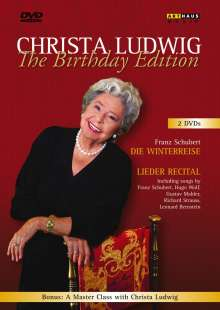 Christa Ludwig zum 80.Geburtstag - The Birthday Edition, 2 DVDs