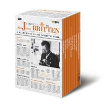 Benjamin Britten (1913-1976): A Tribute to Benjamin Britten - 8 Opern auf DVD, 8 DVDs