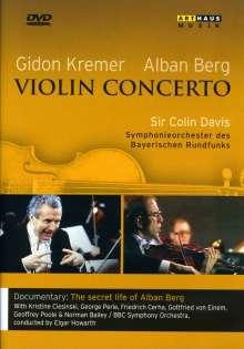 """Alban Berg (1885-1935): Violinkonzert """"Dem Andenken eines Engels"""", DVD"""