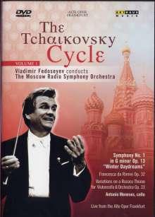 Vladimir Fedoseyev - The Tschaikowsky-Cycle Vol.1, DVD