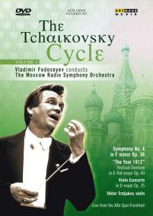 Vladimir Fedoseyev - The Tschaikowsky-Cycle Vol.4, DVD