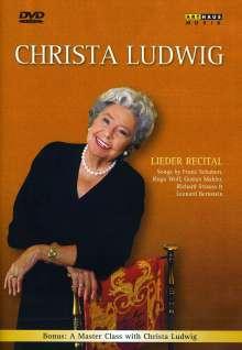 Christa Ludwig - Lieder Recital, DVD