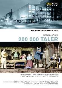Boris Blacher (1903-1975): 200 000 Taler, DVD