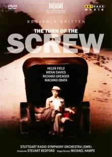 Benjamin Britten (1913-1976): The Turn of the Screw op.54, DVD
