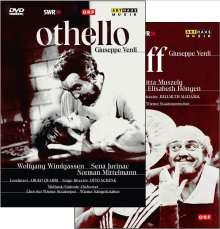 Giuseppe Verdi (1813-1901): Otello (in dt.Spr.), 2 DVDs