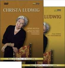 Christa Ludwig - Lieder Recital, 2 DVDs