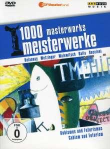 1000 Meisterwerke - Kubismus und Futurismus, DVD