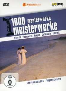 1000 Meisterwerke - Impressionismus, DVD