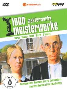 1000 Meisterwerke - Amerikanischer Realismus im 20. Jahrh., DVD