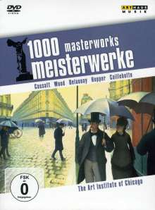 1000 Meisterwerke - The Art Of Institute Of Chicago, DVD