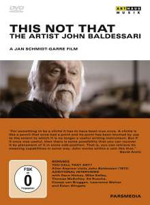 Arthaus Music Documentary: John Baldessari, DVD