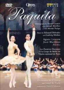 Paris Opera Ballet:Paquita, DVD